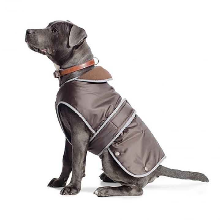 Ancol Muddy Paws Stormguard Chocolate Dog Coat XX Large