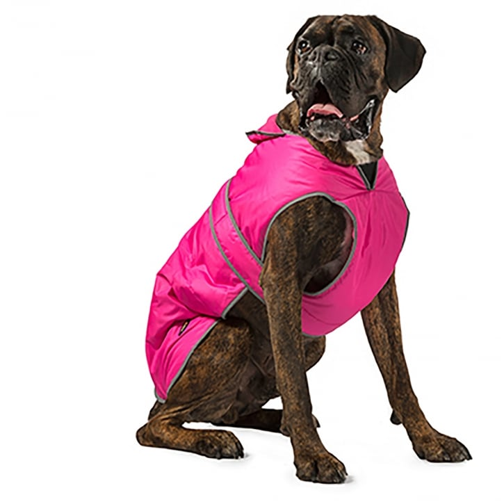 Ancol Muddy Paws Stormguard Pink Dog Coat X Small