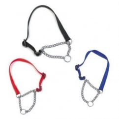 Nylon Chain Check Dog Collar