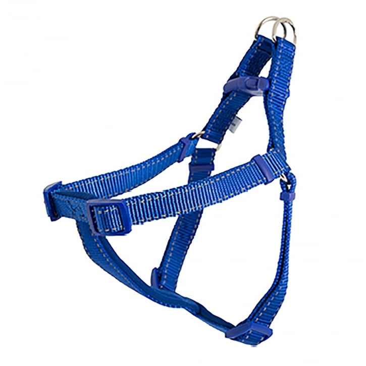 Ancol Nylon Dog Padded Harness - Small - Blue