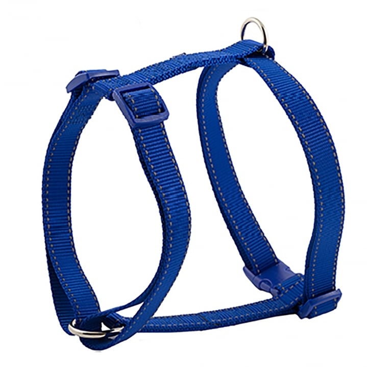 Ancol Padded Nylon Dog Harness - Medium - Blue