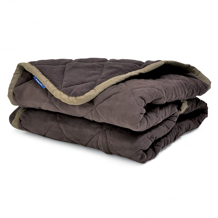 Ancol Sleepy Paws Sofa Guard Luxury Pet Throw Large Brown