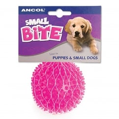 Small Bite Mini Spikey Ball Dog Toy