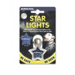 Ancol Star Lights Identity Tag