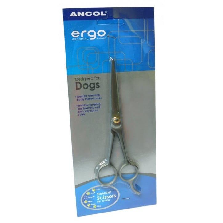 Ancol Straight Trimming Scissors