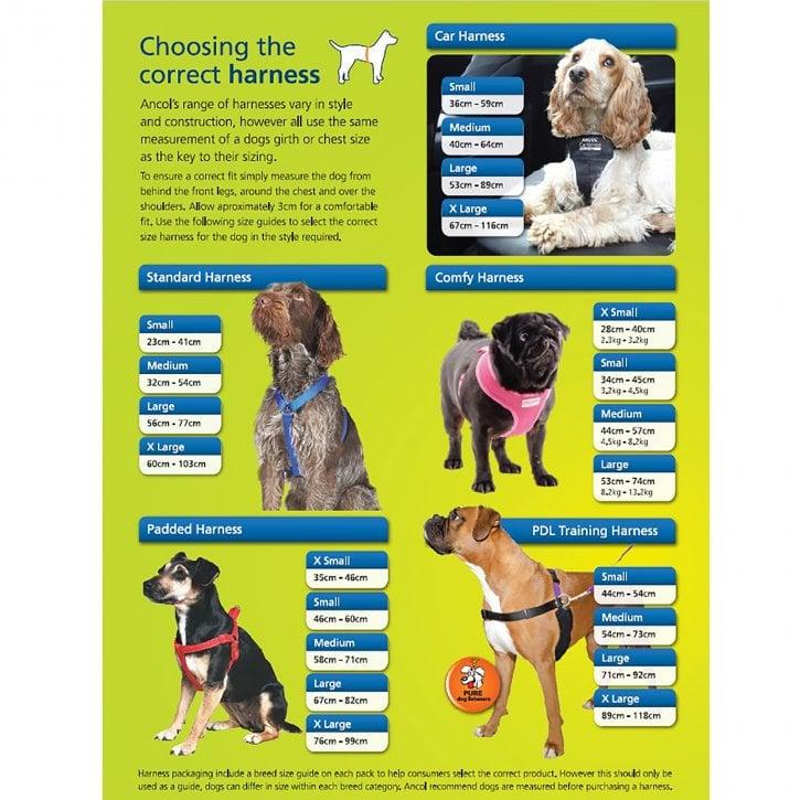 Ancol Travel Dog Harness Small (37-58cm) | Feedem