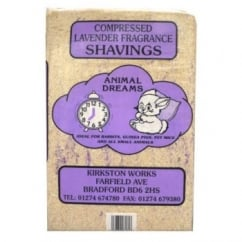 Compressed Shavings Lavender Large.
