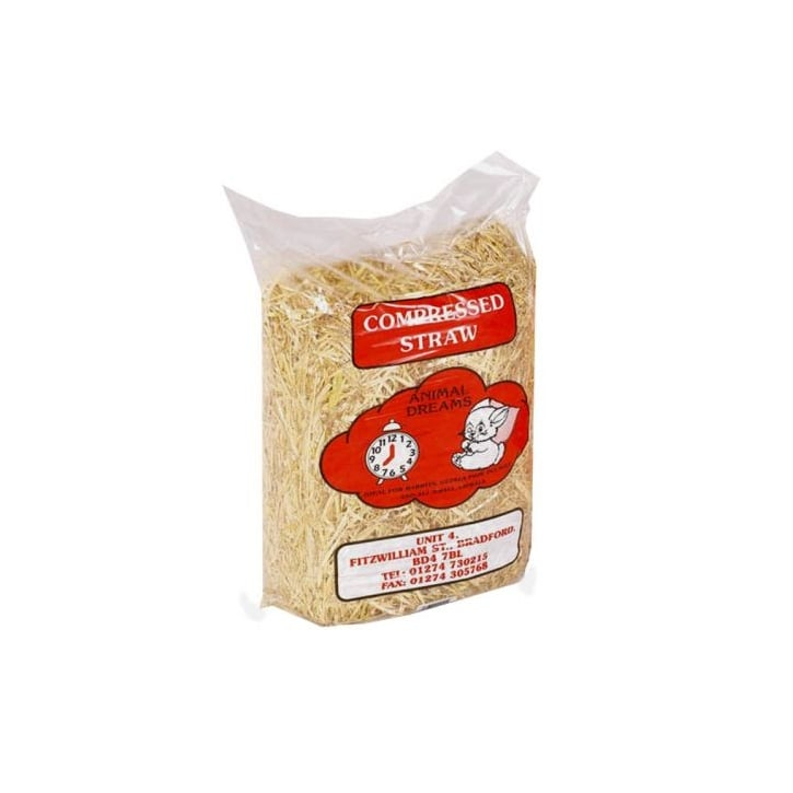 Animal Dreams Compressed Straw For All Small Animals - Standard