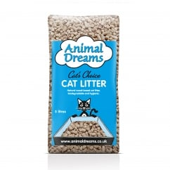 Wood-Based Cat Litter 5ltr