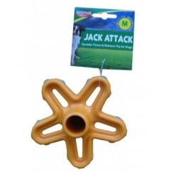 Jack Attack Head Medium Dog Toy