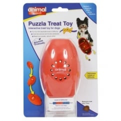 Puzzla Pod Interactive Treat Toy for Dogs Medium