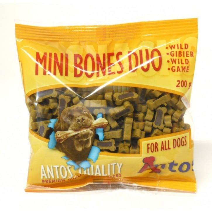 Antos Mini Bones Game Training Treat 200gm