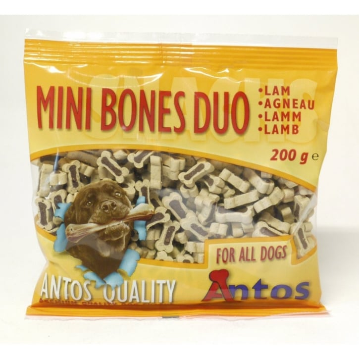 Antos Mini Bones Lamb Training Treat 200gm