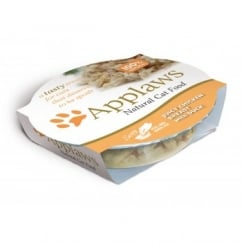 Adult Cat Food Juicy Chicken Breast with Duck 10x60gm pots