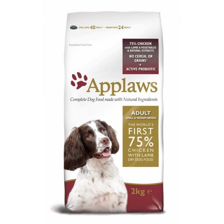 Applaws Applaws Adult Dog Food Small/Medium Breed Lamb 2kg