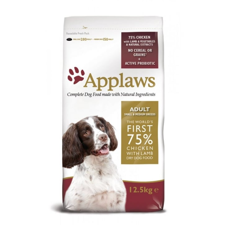 Applaws Applaws Adult Dog Food Small/Medium Breed Lamb 7.5kg