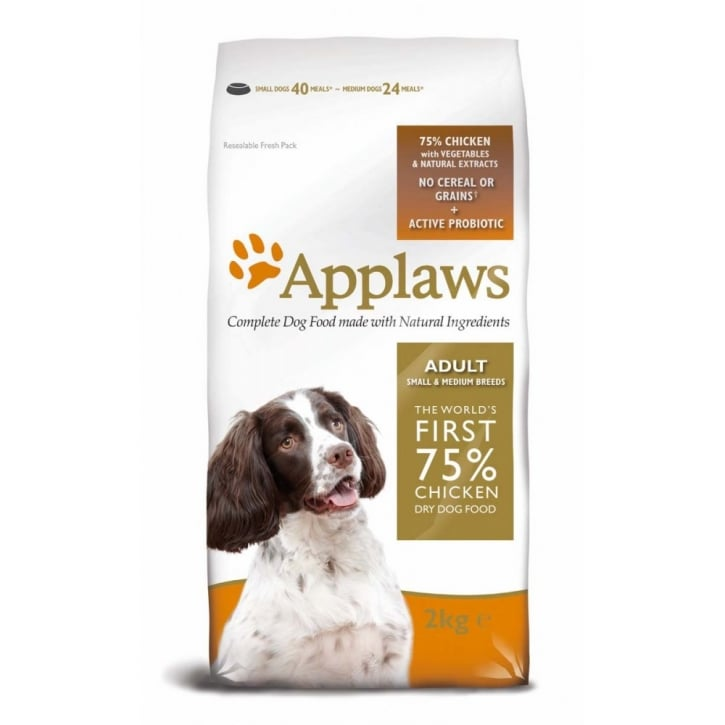 Applaws Applaws Adult Small & Medium Breeds Dog Food Chicken 2kg