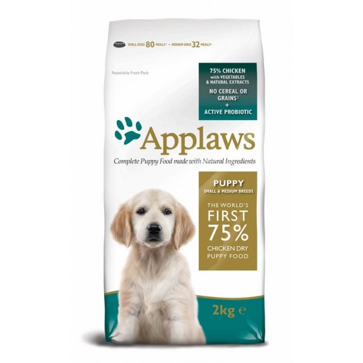 Applaws Applaws Dog Dry Puppy Small/Medium Breed Chicken 2kg