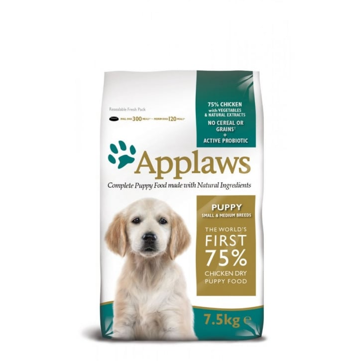 Applaws Applaws Dry Puppy Small/Medium Breed Chicken 7.5kg