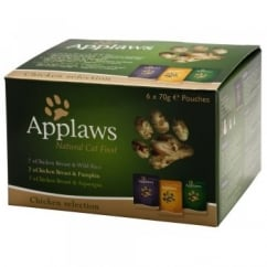 Applaws Pouch Chicken Multi Pack 6x70gm