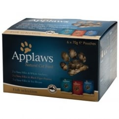 Applaws Pouch Fish Multi Pack 6x70gm