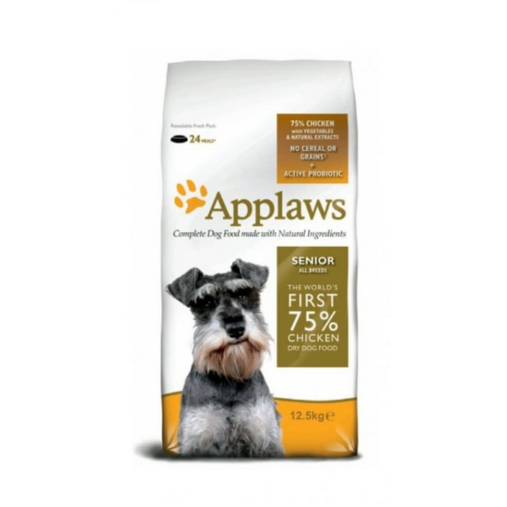 Applaws Dry Dog Senior Chicken All Breeds 7.5kg Bag