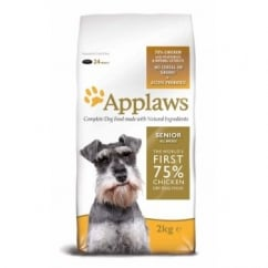 Applaws Senior Dry Dog Food for All Breeds Chicken 2kg Bag