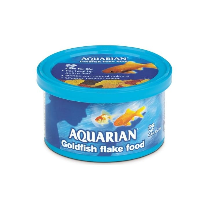 Aquarian Goldfish Flaked Fish Food 50g