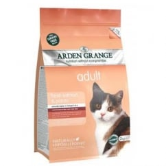 Arden Grange Adult Cat Food Salmon and Potato 4kg