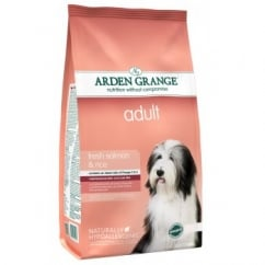 Arden Grange Adult Complete Dog Food Rich In Salmon & Rice 12kg
