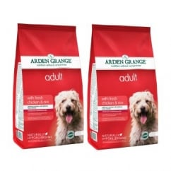 Adult Fresh Chicken & Rice Dog Food 2 x 12kg