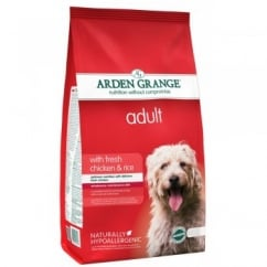 Arden Grange Adult Fresh Chicken & Rice Dog Food 6kg