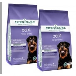 Adult Large Breed Chicken & Rice Dog Food 2 x 12kg