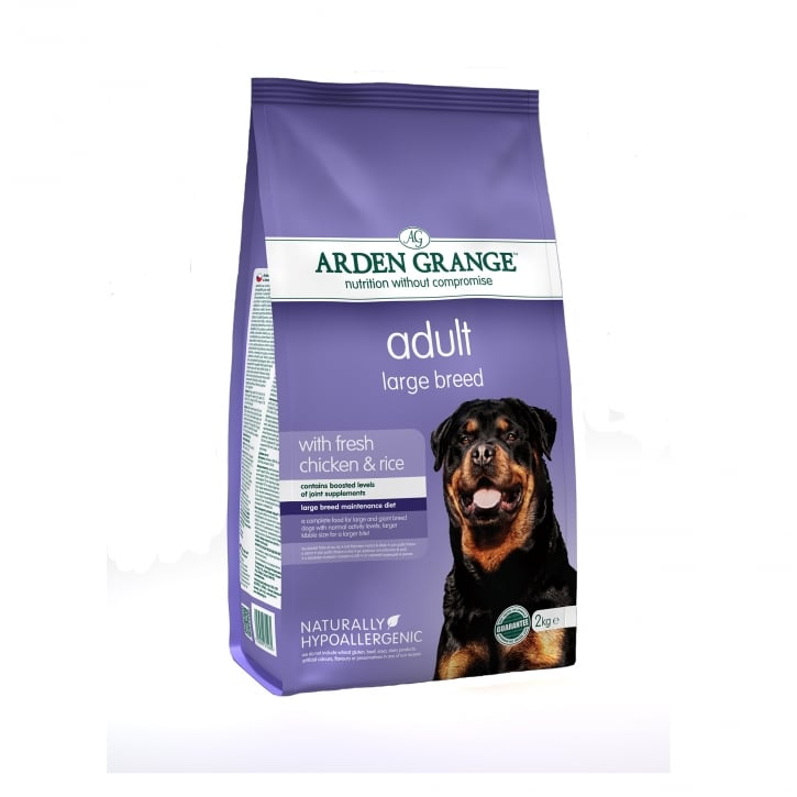 Arden Grange Adult Large Breed Chicken & Rice Dog Food 2kg
