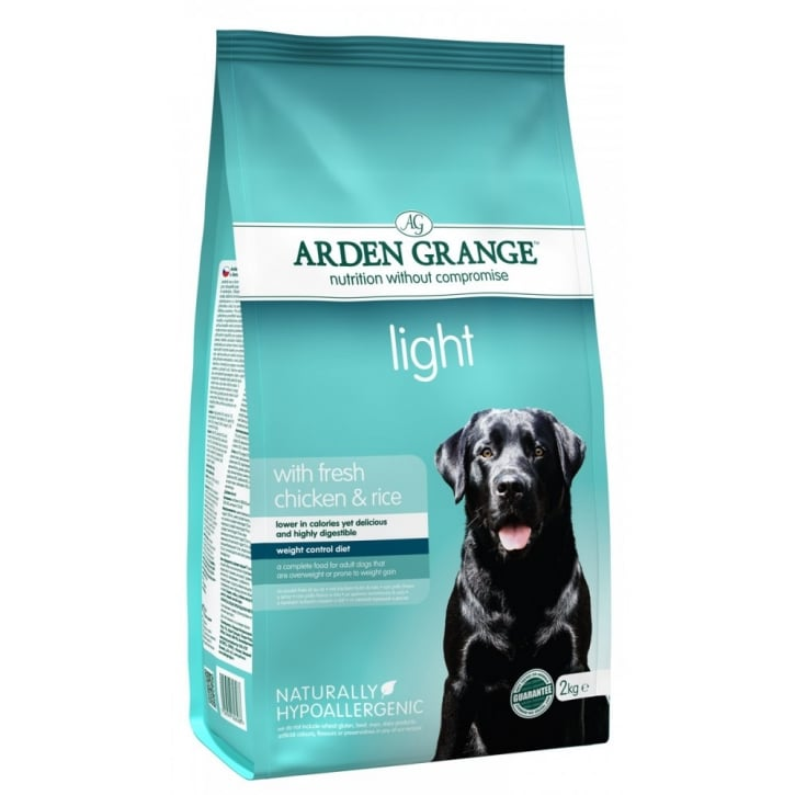 Arden Grange Adult Light Fresh Chicken & Rice Dog Food 2kg