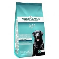 Arden Grange Adult Light Fresh Chicken & Rice Dog Food 6kg