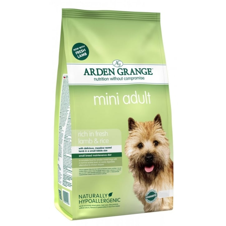 Arden Grange Adult Mini Complete Dog Food Lamb & Rice 6kg