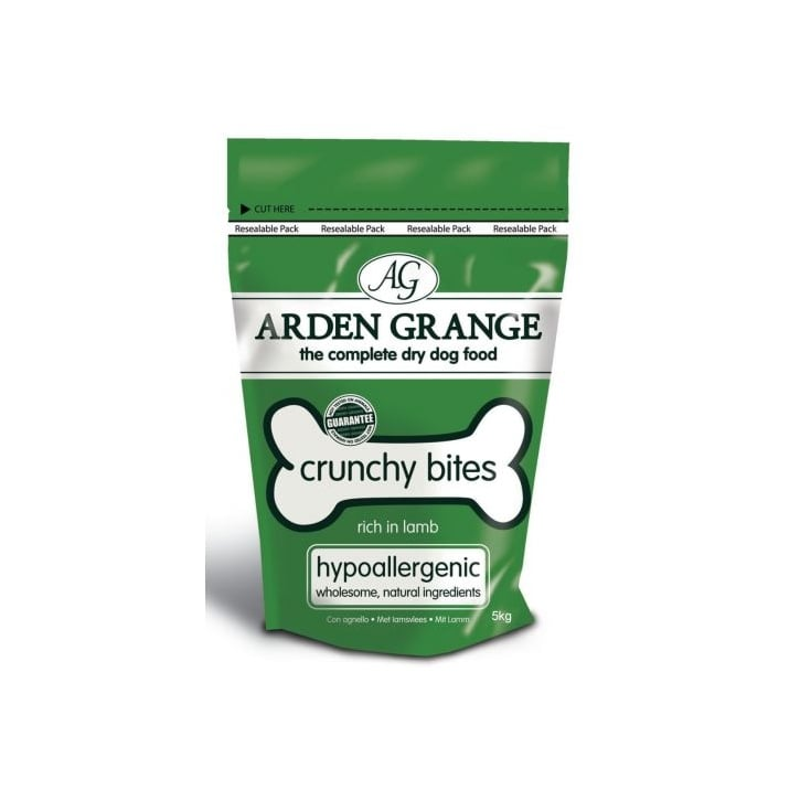 Arden Grange Crunchy Bites Lamb Dog Treats - 5kg