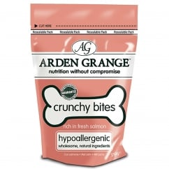 Crunchy Bites Salmon Dog Treats 250g