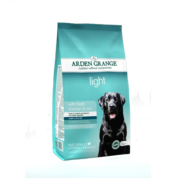 Arden Grange Light Adult Dog Food Chicken & Rice 2kg