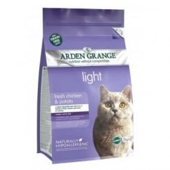 Light Cat Food Chicken & Potato 2kg