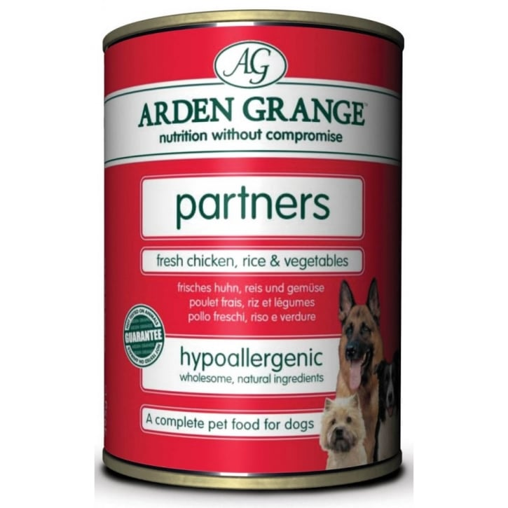 Arden Grange Partners Chicken Rice & Vegetables 395gm 24pk