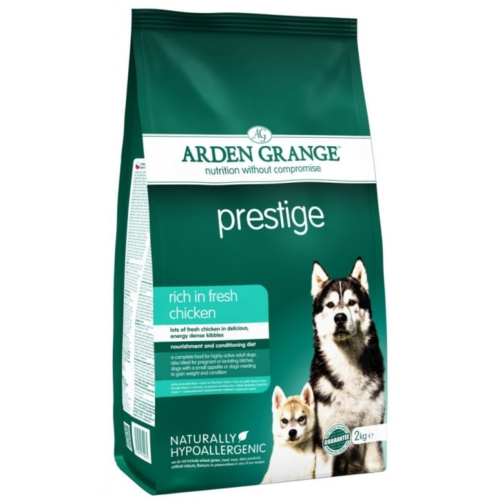Arden Grange Prestige Adult Dog Food In Chicken 2kg