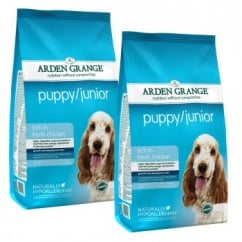 Puppy/Junior Chicken & Rice Dog Food 2 x 12kg