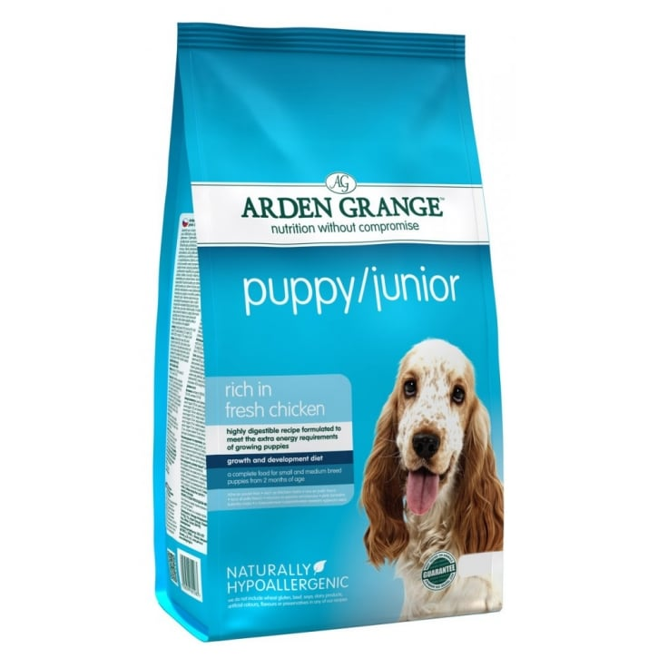 Arden Grange Puppy/Junior Chicken & Rice Dog Food 6kg