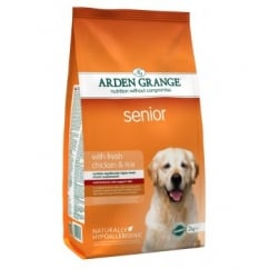 Arden Grange Senior Complete Dog Food Chicken & Rice 2kg