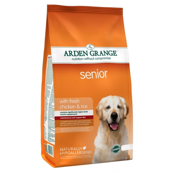 Arden Grange Senior Dog Food Chicken & Rice 12kg