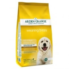 Weaning/Puppy Dog Food Chicken & Rice 2kg
