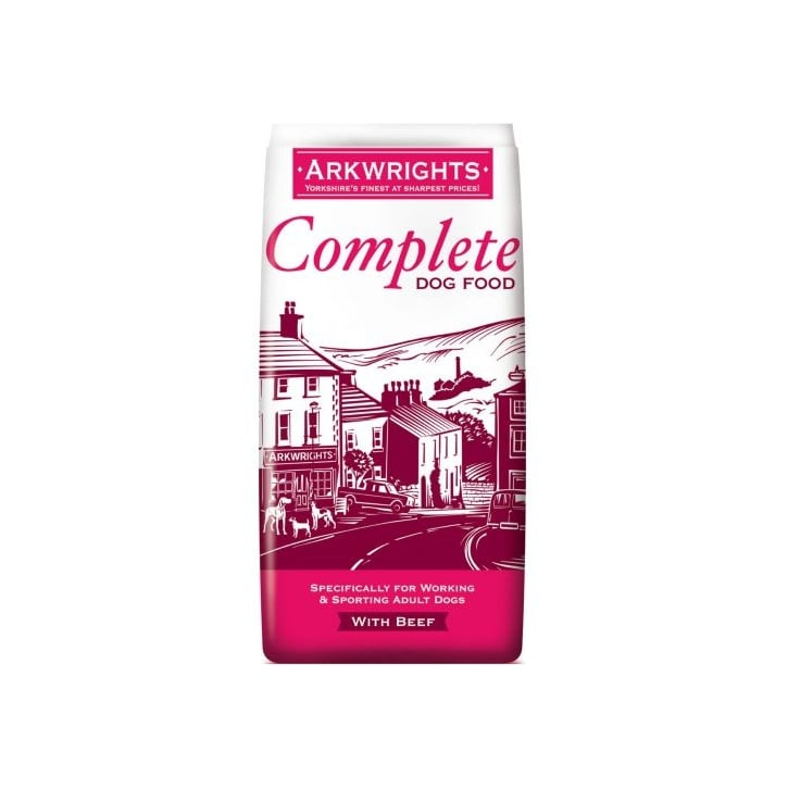 Arkwrights Complete Adult Dog Food Beef 15kg