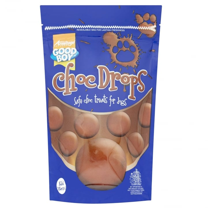 Armitage Good Boy Chocolate Drops Dog Treats 250g
